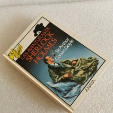 Libros de segunda mano: LAS AVENTURAS DE SHERLOCK HOLMES - TUS LIBROS ANAYA 101 1ª EDICION 1990. Lote 182356842