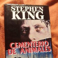 Libros de segunda mano: CEMENTERIO DE ANIMALES, DE STEPHEN KING. EDICION ESCASA. P&J, ABRIL 1992 (1ª ED.). TAPA DURA.. Lote 182329701