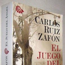 Libros de segunda mano: EL JUEGO DEL ANGEL - CARLOS RUIZ ZAFON. Lote 182612597