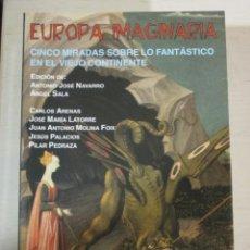 Libros de segunda mano: VV.AA. EUROPA IMAGINARIA. CINCO MIRADAS SOBRE LO FANTASTICO EN EL VIEJO CONTINENTE, VALDEMAR. Lote 182904872