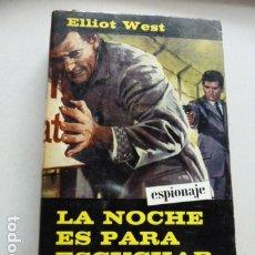 Libros de segunda mano: LA NOCHE ES PARA ESCUCHAR- INTRIGA DE EDIT.ALCOTAN-. Lote 182941770