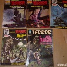 Libros de segunda mano: LOTE 5 BOLSILIBROS DE TERROR. Lote 183312643
