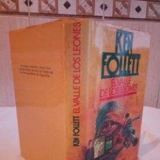 Libros de segunda mano: 179-EL VALLE DE LOS LEONES, KEN FOLLET, 1987. Lote 183440870
