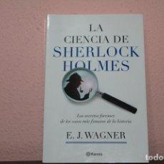 Libros de segunda mano: LA CIENCIA DE SHERLOCK HOLMES. Lote 183444083