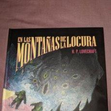Libros de segunda mano: EN LAS MONTAÑAS DE LA LOCURA - H.P. LOVECRAFT - EDICIÓN COLECCIONISTA LIMITADA Y NUMERADA -. Lote 183675961