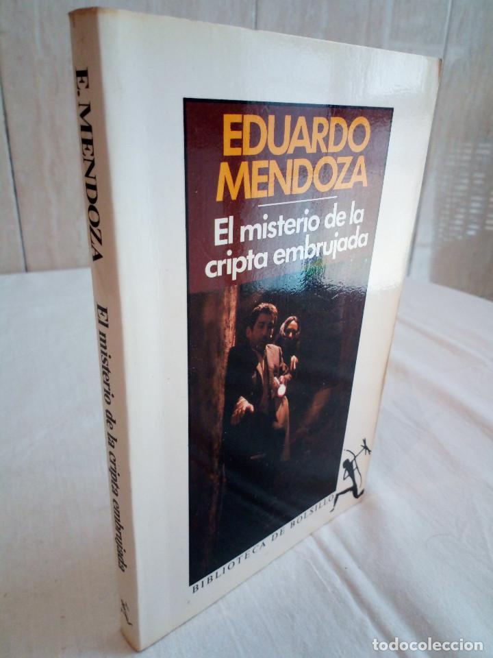297-EL MISTERIO DE LA CRIPTA EMBRUJADA, EDUARDO MENDOZA, 1990 (Libros de segunda mano (posteriores a 1936) - Literatura - Narrativa - Terror, Misterio y Policíaco)
