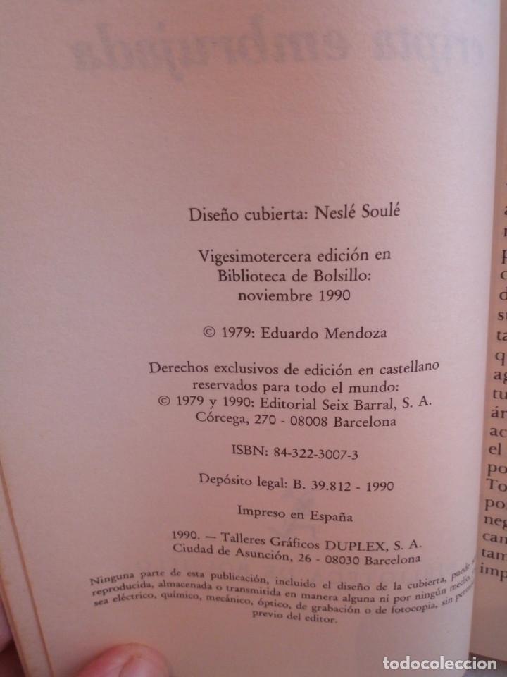 Libros de segunda mano: 297-EL MISTERIO DE LA CRIPTA EMBRUJADA, Eduardo Mendoza, 1990 - Foto 5 - 183957398