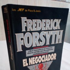 Libros de segunda mano: 225-EL NEGOCIADOR, FREDERICK FORSYTH, 1990. Lote 183957788