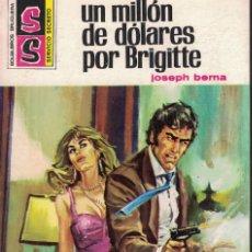 Libros de segunda mano: SERVICIO SECRETO Nº 1321 - UN MILLON DE DOLARES POR BRIGITTE - JOSEPH BERNA. Lote 183978738