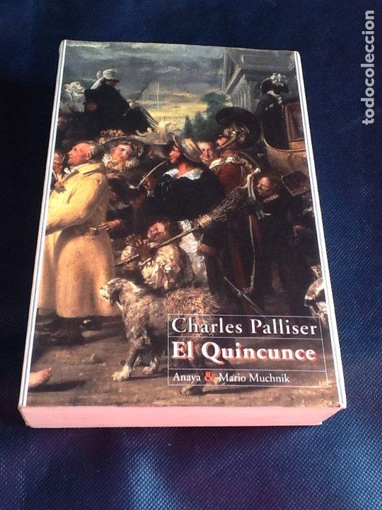 EL QUINCUNCE. CHARLES PALLISER (Libros de segunda mano (posteriores a 1936) - Literatura - Narrativa - Terror, Misterio y Policíaco)