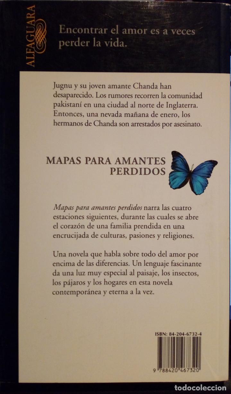 Libros de segunda mano: MAPAS PARA AMANTES PERDIDOS. NADEEM ASLAM - Foto 2 - 185714600