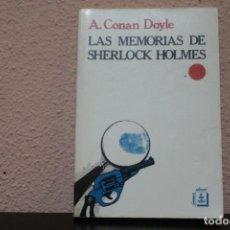 Libros de segunda mano: LAS MEMORIAS DE SHERLOCK HOLMES, EDITORIAL FONTAMARA. Lote 185973176