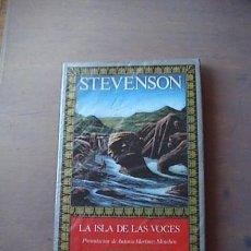 Libros de segunda mano: LA ISLA DE LAS VOCES DE STEVENSON, COLECCIÓN EL ARCA PERDIDA, LEGASA. Lote 186226618