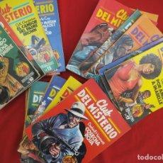 Libros de segunda mano: EDITORIAL BRUGUERA CLUB DEL MISTERIO DEL Nº 1 AL Nº 24. Lote 186415590