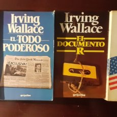 Libros de segunda mano: COLECCION IRVING WALLACE. Lote 188863495