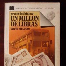 Libros de segunda mano: UN MILLON DE LIBRAS - DAVID WELDON - 1977. Lote 189101587