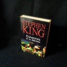 Libros de segunda mano: STEPHEN KING - CORAZONES EN LA ATLANTIDA - RBA EDITORES 2003. Lote 189132847