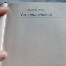 Libros de segunda mano: STEPHEN KING LA ZONA MUERTA PRIMERA EDICIÓN 1981. Lote 189133776