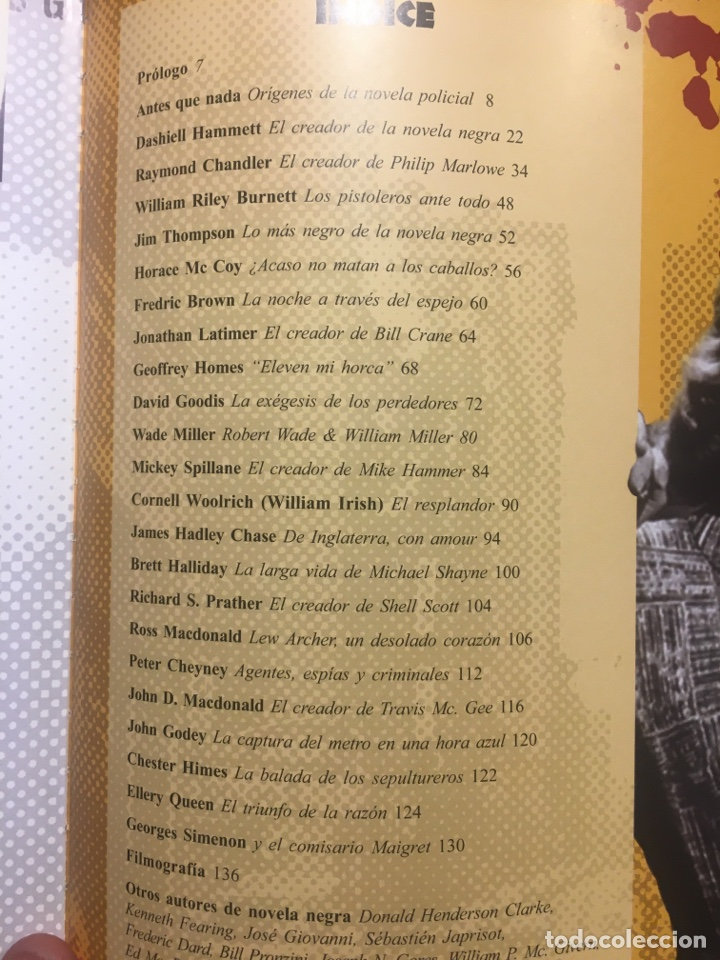 Libros de segunda mano: LIBRO. SANGRE, CRIMEN Y BALAS. CRONICAS Y MISTERIOS DE LA NOVELA NEGRA. CIRCULO LATINO. RAYS COLLINS - Foto 6 - 189774832