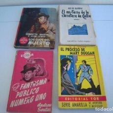 Libros de segunda mano: LOTE POLICIACO TERROR. Lote 190070798