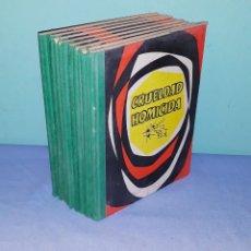 Libros de segunda mano: LOTE DE 8 LIBROS DE CASOS POLICIACOS REALES GARGEL BLASTON EDITORIAL SENEN AÑOS 50. Lote 190853645