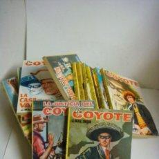 Libros de segunda mano: NOVELA DE EL COYOTE LOTE DE 18 NOVELAS (#). Lote 191402523