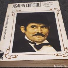 Libros de segunda mano: PRIMEROS CASOS DE POIROT – AGATHA CHRISTIE. Lote 191747576