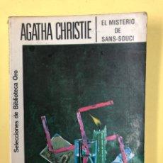 Libros de segunda mano: EL MISTERIO DE SANS SOUCI - AGATHA CHRISTIE - EDITORIAL MOLINO 1965. Lote 191813145