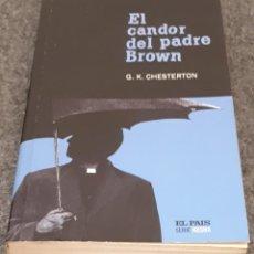 Libros de segunda mano: EL CANDOR DEL PADRE BROWN – G. K. CHESTERTON. Lote 191897856