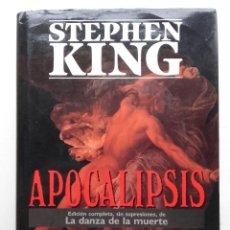 Libros de segunda mano: APOCALIPSIS - STEPHEN KING - PRIMERA EDICION - PLAZA & JANES - 1990 - TERROR. Lote 192084661