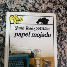 Libros de segunda mano: PAPEL MOJADO, JUAN JOSÉ MILLÁS, TUS LIBROS ANAYA, NÚMERO 33, TAPA DURA, 1993. Lote 192100290