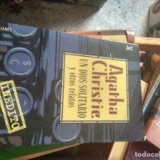 Libri di seconda mano: UN DIOS SOLITARIO Y OTROS RELATOS. CHRISTIE, AGATHA. Lote 192568327