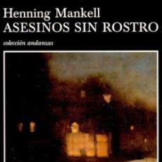 Libros de segunda mano: ASESINOS SIN ROSTRO. .-NUEVO. Lote 194224073