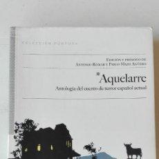 Libros de segunda mano: AQUELARRE. VARIOS AUTORES. Lote 194231507