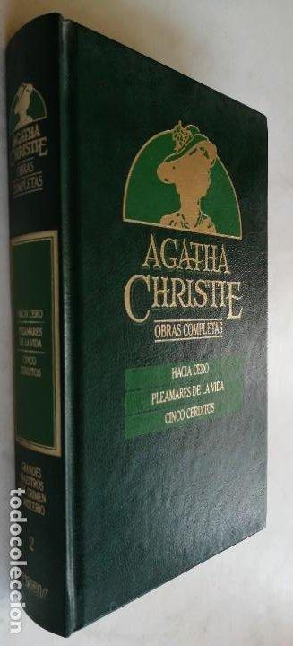 HACIA CERO - PLEAMARES DE LA VIDA - CINCO CERDITOS - A CHRISITIE (Libros de segunda mano (posteriores a 1936) - Literatura - Narrativa - Terror, Misterio y Policíaco)