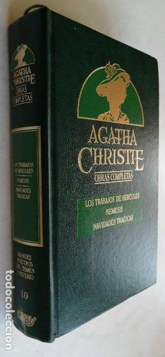 LOS TRABAJOS DE HERCULES - NEMESIS - NAVIDADES TREAGICAS - A CHRISTIE (Libros de segunda mano (posteriores a 1936) - Literatura - Narrativa - Terror, Misterio y Policíaco)