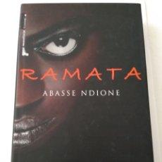 Libros de segunda mano: RAMATA/ABRASE NDIONE. Lote 194357108