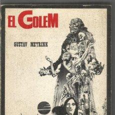 Libros de segunda mano: GUSTAV MEYRINK. EL GOLEM. BARRAL. Lote 194507062