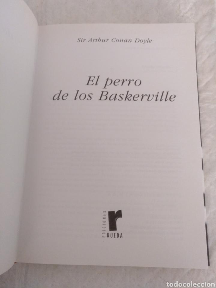 Libros de segunda mano: El perro de los Baskerville. Sir Arthur Conan Doyle. Novelas de suspense y terror. Libro - Foto 2 - 194889172
