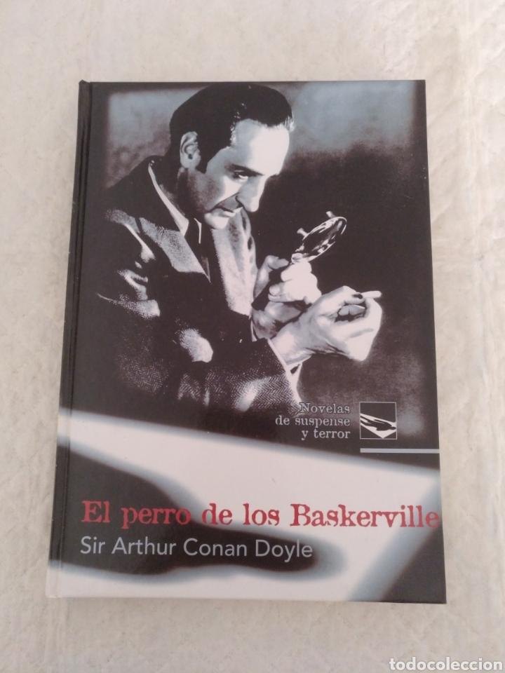 EL PERRO DE LOS BASKERVILLE. SIR ARTHUR CONAN DOYLE. NOVELAS DE SUSPENSE Y TERROR. LIBRO (Libros de segunda mano (posteriores a 1936) - Literatura - Narrativa - Terror, Misterio y Policíaco)