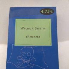 Libros de segunda mano: EL MONZÓN/WILBUR SMITH. Lote 194977170
