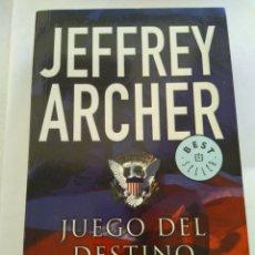Libros de segunda mano: JUEGO DEL DESTINO/JEFFREY ARCHER. Lote 194977248