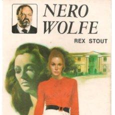 Libros de segunda mano: NERO WOLFE. Nº 10. LA SEGUNDA CONFESIÓN. REX STOUT. EDITORIAL MOLINO, 1981.(P/D49). Lote 195007086