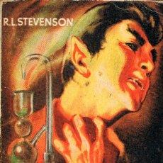 Libros de segunda mano: ENCICLOPEDIA PULGA Nº 220, R.L. STEVENSON: EL EXTRAÑO CASO DEL DR. JEKYLL Y MR. HYDE. Lote 195008578