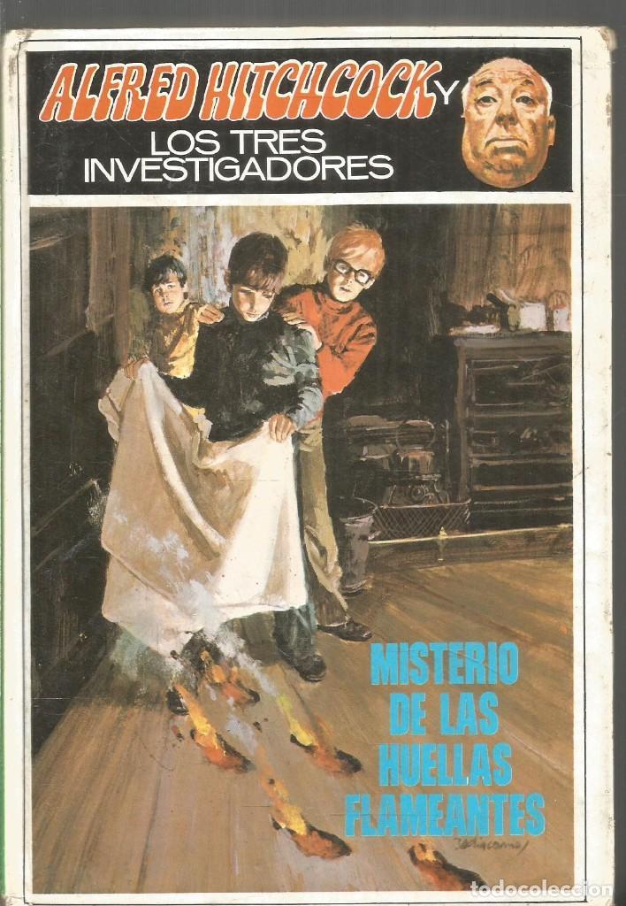 ALFRED HITCHCOCK Y LOS TRES INVESTIGADORES. MISTERIO DE LAS HUELLAS FLAMEANTES. MOLINO (Libros de segunda mano (posteriores a 1936) - Literatura - Narrativa - Terror, Misterio y Policíaco)
