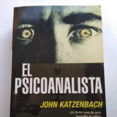 Libros de segunda mano: EL PSICOANALISTS/JOHN KATZENBACH. Lote 211431757