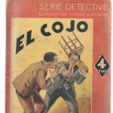Libros de segunda mano: SERIE DETECTIVE. EL COJO. VALENTINE WILLIANS. EDITORIAL MAUCCI. (P/B75). Lote 195307481