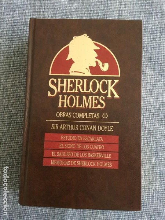 Libros de segunda mano: Sherlock Holmes. Obras completas: volúmenes 1, 2 y 3. Sir Arthur Conan Doyle. - Foto 3 - 195378110