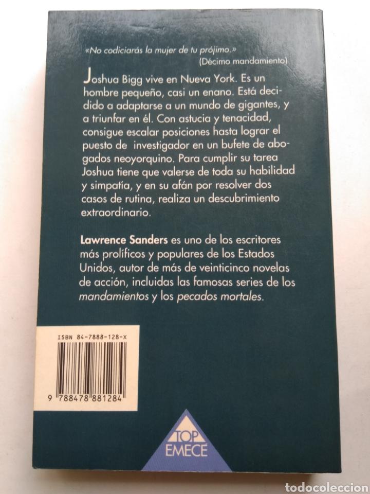 Libros de segunda mano: EL DECIMO MANDAMIENTO/LAWRENCE SANDERS - Foto 2 - 195384473