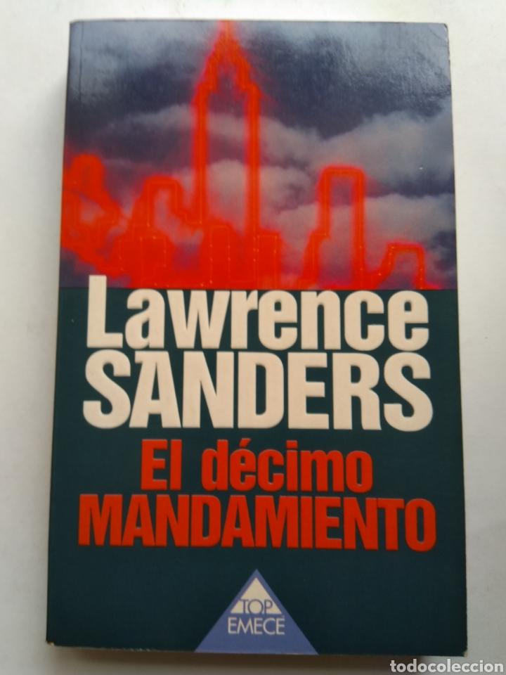 EL DECIMO MANDAMIENTO/LAWRENCE SANDERS (Libros de segunda mano (posteriores a 1936) - Literatura - Narrativa - Terror, Misterio y Policíaco)